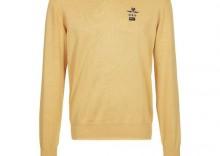 New Zealand Auckland Sweter żółty