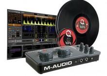 M-Audio Torq Cenectiv Vinyl/CD Pack - Digital Vinyl System, interfejs audio