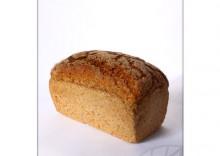 Piekarnia Słodka: Chleb Eko razowy na zakwasie pszenny Graham BIO - 500 g