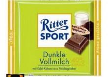 Czekolada Ritter Sport Dunkle Vollmilch