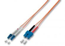 Światłowód LC-SC Duplex MM 50/125 OM2 10M
