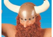 Wielka broda z wąsami - ruda