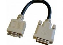 Przejściówka DVI męska VGA żeńska 0,20 m TTL Network