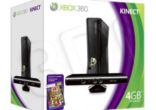 X-Box 360 250GB + Kinect + Kinect Adventures