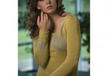 Sweter Sweter Ela oliwkowy