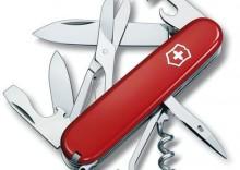 VICTORINOX - Scyzoryk oficerski CLIMBER - czerwony