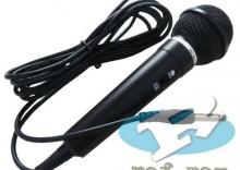 Kierunkowy dynamiczny mikrofon karaoke 3M