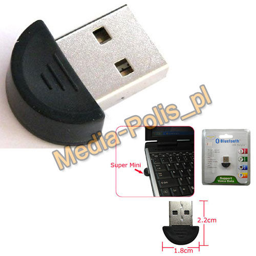 K90 Bluetooth DONGLE USB 2,0 -Micro EDR
