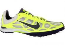 Kolce przełajowe - Nike Zoom Waffle XC VIII, kolor: biały/cytrynowy-granatowy