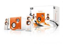 Głośniki 2.1 USB 60W Purephonic Orange SP212