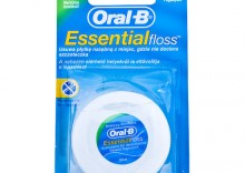 Oral-B Nić EssentialFloss - nić dentystyczna Essential Floss woskowana smak miętowy 50m