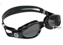 Okulary pływackie KAIMAN czarno-szare Aqua Sphere