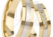 Złote obrączki ślubne Łazur Nowości kolekcja Zmysłowa wzór Z01