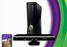 X-Box 360 4GB + Kinect + gra Kinect Adventures