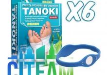 CITEAM - TANOKI- 6 OPAKOWAŃ - plastry oczyszczające + opaska gratis