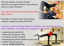 STEP DO AEROBIKU Fitness PROfit SuperPlus 3 poziomy