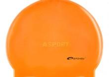 Czepek z silikonu SUMMER pomarańczowy Spokey