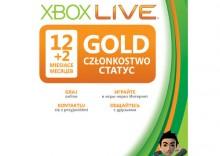 Abonament Xbox Live GOLD 12 miesięcy PL
