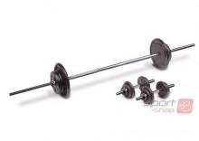 Zestaw żeliwny York sztanga i sztangielki 50kg