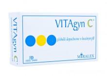 VITAgyn C globulki dopochwowe - zakażenia bakteryjne grzybicze 10 globulek