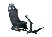 Fotel rajdowy Playseats Evolution Alcantara, czarny