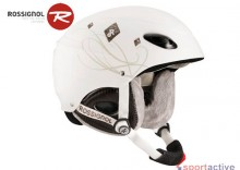 Kask damski ROSSIGNOL TOXIC WOMEN - White/Brown