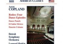 Copland - Rodeo; Dance Panels; El salon Mexico; Danzon cubano / Detroit Symphony Orchestra, Leonard Slatkin
