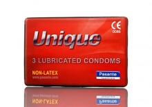 Unique - prezerwatywy nielateksowe żywiczne