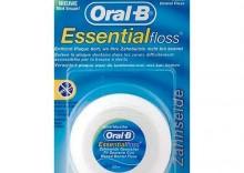 ORAL-B Essential Floss - Woskowana nić dentystyczna o miętowym posmaku 50m