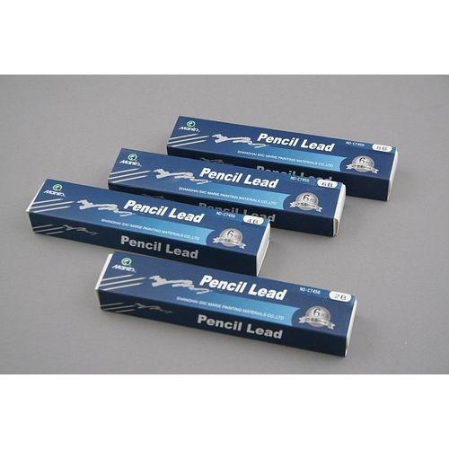 Wkłady do ołówka KUBUŚ 5,6mm - Twardość: 2B