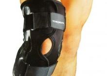 Profesjonalny stabilizator kolana - stalowe pręty