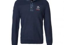 New Zealand Auckland Sweter niebieski