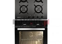Kuchnia z płytą gaz. Mastercook MB8 EN+GCF 64 SI