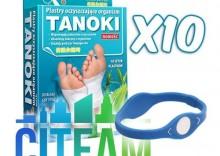 CITEAM - TANOKI- 10 OPAKOWAŃ - plastry oczyszczające + opaska gratis