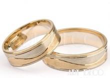 Złote Obrączki Ślubne STELMACH kolekcja Elegancja wzór 140