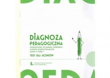 Diagnoza pedagogiczna. Klasa 1, edukacja wczesnoszkolna. Test dla uczniów [opr. broszurowa]