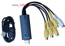 USB /DVR 4 kanały Video, 25 kl/s, 1 kanał AUDIOEASY CAP