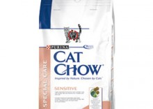 PURINA CAT CHOW SENSITIVE SPECIAL CARE 1,5KG - SUCHA KARMA DLA KOTA