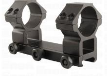 Montaż Leapers jednoczęściowy średni 30/22 mm (weaver)