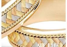 Złote Obrączki Ślubne VERONA by Yes wzór 301