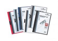 Skoroszyt zaciskowy Durable Duraclip A4 1-60 kartek czarny