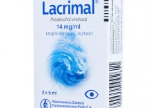 LACRIMAL krople do oczu 2x5ml