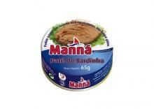 Portugalska pasta z sardynek łagodna 65g Manná