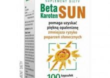 Beta Karoten Sun 100kapsułek