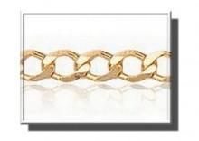 XAA0019 | Łańcuszek Pancerka dł. 45cm żółte złoto 333 szer.3mm