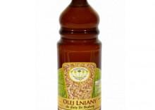 Olej lniany do dieta Dr.Budwig 1000ml OKAZJA