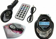 Transmiter FM MP3 USB SD 8GB READY + pilot