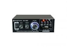 Skytronic AV-360 Wzmacniacz karaoke FM / USB / SD