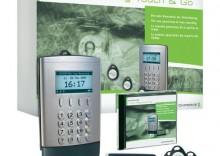 System rejestracji czasu pracy Chipdrive Touch & Go, czytnik, zestaw 25 chipów 10% RABATU NA CAŁY ASORTYMENT do 14.09.2012