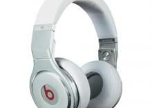 Słuchawki studyjne Monster Beats Pro, Dr. Dre Edition, 20 - 20 000 Hz, 118 dB, białe - 20 zł za zapisanie się do Newslettera